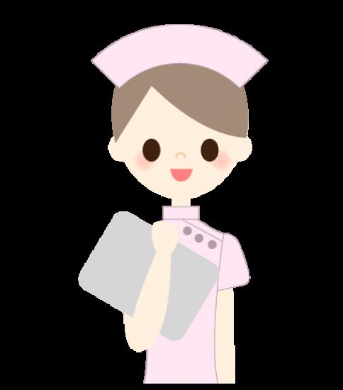 笑顔の看護婦