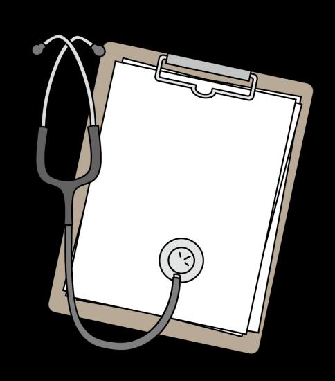カルテと聴診器