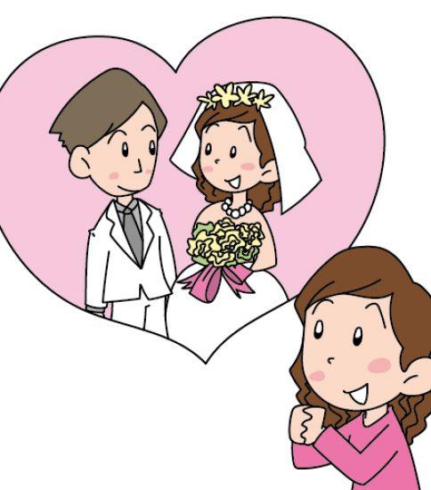 結婚にあこがれる女性