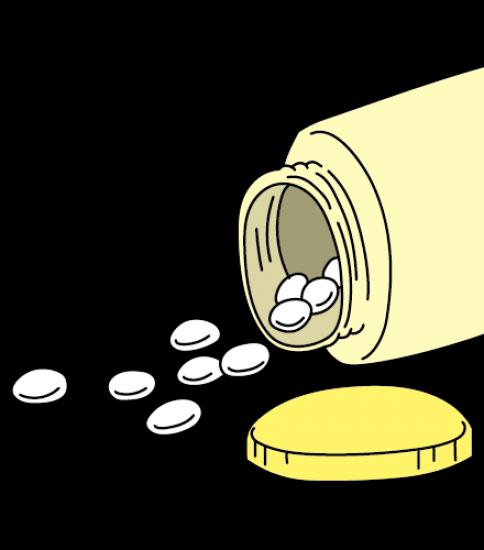 サプリメントの錠剤