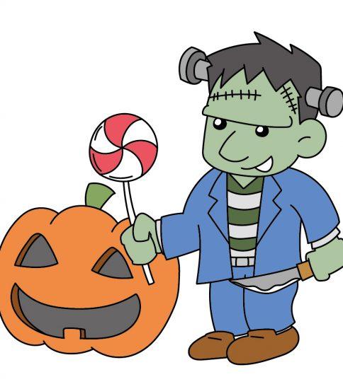 かぼちゃとフランケン