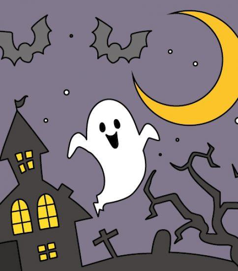幽霊と恐怖の館