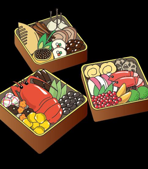 三段のおせち