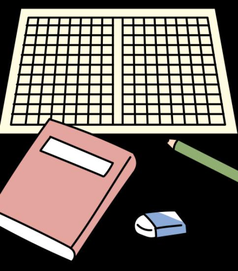 本と原稿用紙