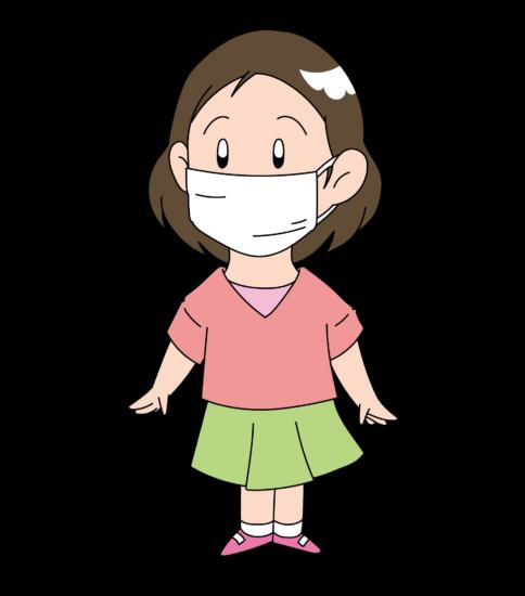 入学準備品のマスク